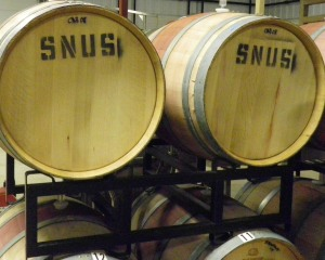 Snus Hill Wine Barrels