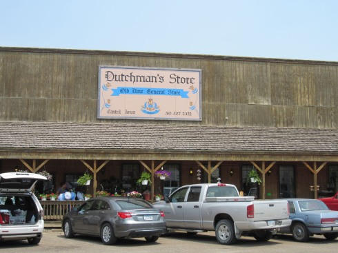 Storefront of the Dutchman's Store